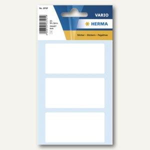 Herma Vielzweck-Etiketten, 34 x 67 mm, weiß, 10 x 21 Stück, 3757