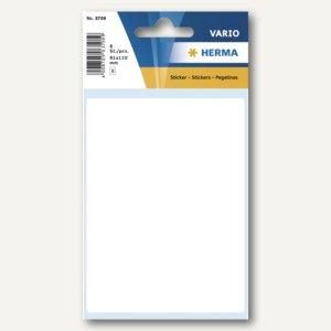 Herma Vielzweck-Etiketten, 81 x 110 mm, weiß, 10 x 8 Stück, 3759