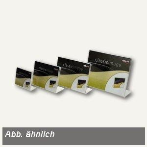 deflect.o Info- und Preisaufsteller, DIN A7 quer, transparent, DE480401