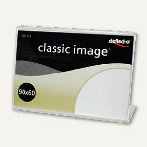 deflect.o Info- und Preisaufsteller, 90x60 mm, transparent, DE480301
