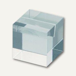 MAUL Acryl-Notiz- und Fotohalter, 3 x 3 x 3 cm, glasklar, 10 Stück, 1954505