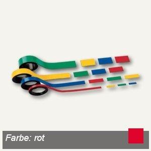 Hebel Magnetstreifen, 0.5 x 100 cm, rot, 10 Stück, 6520125