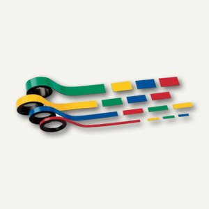 Hebel Magnetstreifen, 1 x 100 cm, gelb, 10 Stück, 6520315
