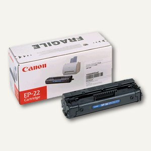 Canon Tonerkartusche EP-22, ca. 2.880 Seiten, schwarz, 1550A003