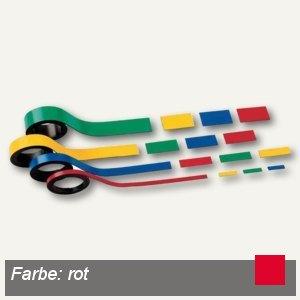 Hebel Magnetstreifen, 1.5 x 100 cm, rot, 6 Stück, 6520525