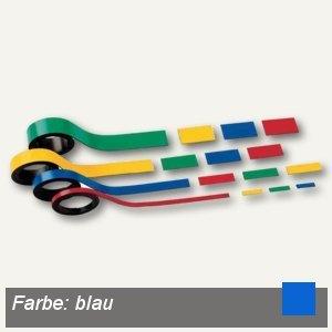 Hebel Magnetstreifen, 1.5 x 100 cm, blau, 6 Stück, 6520537