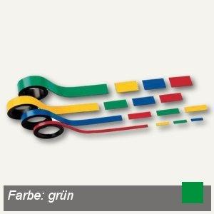 Hebel Magnetstreifen, 1.5 x 100 cm, grün, 6 Stück, 6520555
