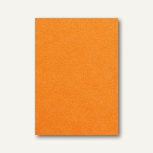 Clairefontaine Tonzeichenpapier DIN A4, 130 g/m², orange, 25 Blatt, 97366C