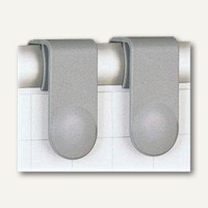 Hebel Blockhalter für Flipchart-Blocks, verschiebbar, 4 Stück, 6387384