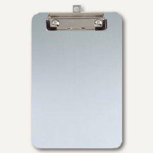Schreibplatte mit Bügelklemme, DIN A5, Aufhängöse, Alu, silber, 2 Stück, 2351508