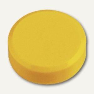 Hebel Rundmagnet 30 FA, Haftkraft: 0.6 kg, gelb, 2x 20 Stück, 6177113