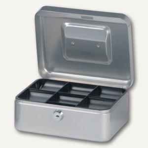 MAUL Geldkassette 2, 20 x 17 x 9 cm, silber, 5610295