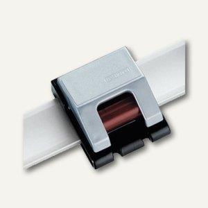 Hebel Rollen-Klemmboy V, 3,3x3,8 cm, 10 St./Ktn., silber, 6252094