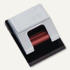 MAUL Rollen-Klemmboy S, 3,3 x 4,3 cm, silber, 10 St./Ktn., 6241094