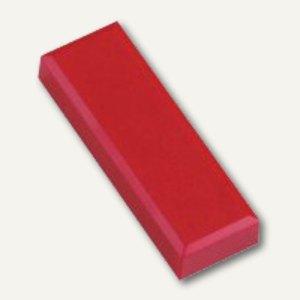 Hebel Rechteckmagnet 53 FA, Haftkraft: 1 kg, 20 St./Btl., rot, 6179125