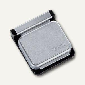 MAUL Magnetclip S, 3,6x4 cm, 10 St./Ktn., silber, 6240094