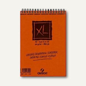 Canson Skizzen- und Zeichenblock XL, 90 g/qm, DIN A5, 60 Blatt, 787220