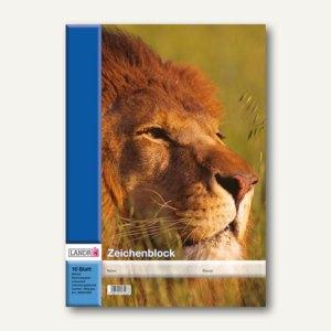 Landré Zeichenblock, DIN A3, 10 Blatt, perforiert, 100050430