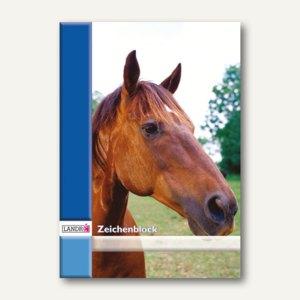 Landré Zeichenblock, DIN A4, 20 Blatt, 100050439