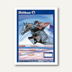 Pelikan Zeichenblock DIN A2, 100 g/m², Block mit 10 Blatt, 137604
