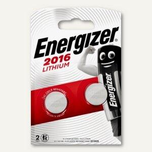 Energizer Spezialbatterien Alkaline/Knopfzellen, CR2016, 2 Stück, 626986