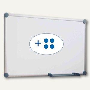 Hebel Whiteboard 2000, 60 x 90 cm, Ablageschale, grau, 6301684
