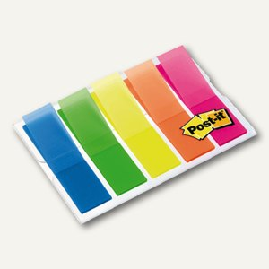 Post-it Index transparent Film, 11.9 x 43.2 mm, 100 Stück, 683HF5