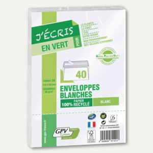 Recycling-Briefumschläge DIN C6