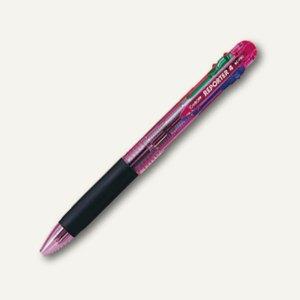Tombow Vierfarbkugelschreiber Reporter 4, transluzent-pink, BC-FRC80