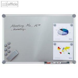 "Hebel Whiteboard 2000, Komplettset, ""silver"", 60 x 90 cm, inkl. Zubehör, 6312384"