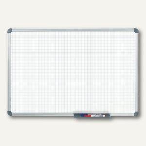 Whiteboard Office 90x120 cm mit Raster