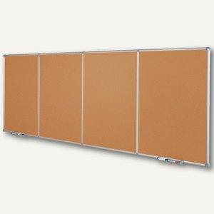 MAUL Endlos-Pinnboard, Erweiterungsmodul, 90x120 cm, hoch, Kork, 6334584