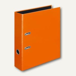 Ordner VELOCOLOR DIN A4, Karton, Hebelmechanik Ø 60 mm, orange, 6 Stück, 4142330