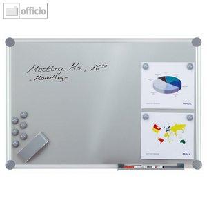 "Hebel Whiteboard 2000, Komplettset, ""silver"", 90 x 120 cm, inkl. Zubehör,6312484"