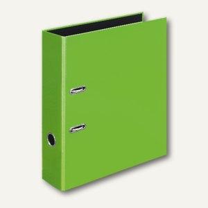 Ordner VELOCOLOR DIN A4, Karton, Hebelmechanik Ø 60 mm, hellgrün, 6 Stück, 41423