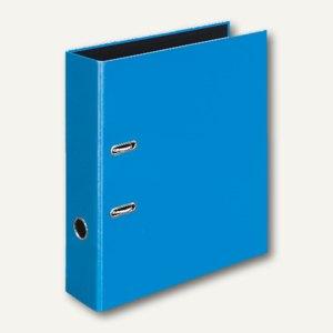 Ordner VELOCOLOR DIN A4, Karton, Hebelmechanik Ø 60 mm, hellblau, 6 Stück, 41423