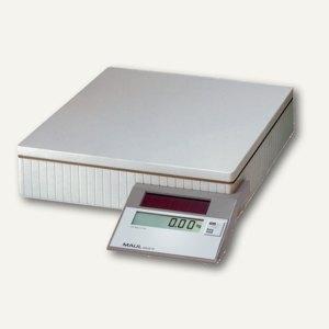 MAUL Solar-Paketwaage MAULparcel S, Tragkraft 20 kg, grau, 17420 82, 1742082