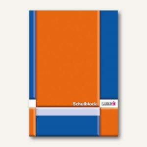 Landré Berufsschulblock DIN A4, Lineatur 22, kariert, 50 Blatt, 100050450