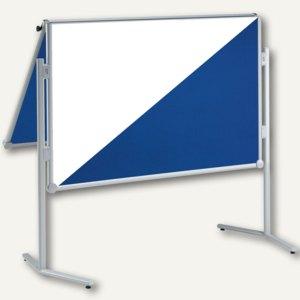 Moderationstafel MAULpro klappbar, 120 x 150 cm, Textil / Whiteboard, 6380782