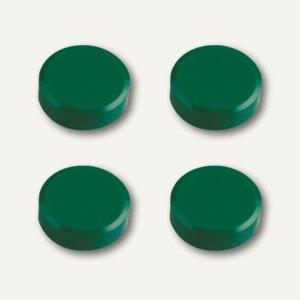 Hebel Rundmagnet, Ø 30 mm, Haftkraft: 0.6 kg, grün, 10x 4 Stück, 6177255