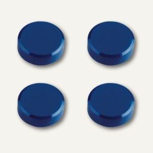 Hebel Rundmagnet, Ø 30 mm, Haftkraft: 0.6 kg, blau, 10x 4 Stück, 6177235