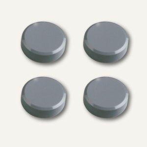 Hebel Rundmagnet, Ø 30 mm, Haftkraft: 0.6 kg, grau, 10x 4 Stück, 6177284