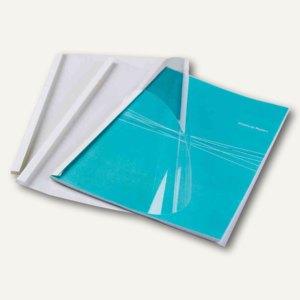 Fellowes Thermobindemappe Standard, DIN A4, Rücken 6 mm, weiß, 100 St., 53154