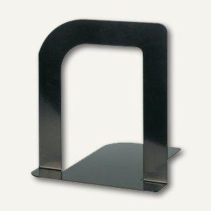 """MAUL Buchstützen """"Design"""", 13 x 12 x 14 cm, Metall, schwarz, 10 Paar, 3525090"""