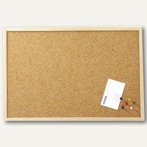 Hebel Pinnboard mit Holzrahmen, 60x80 cm, Kork, 10 Stück, 2706070