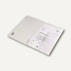 Angebotsmappe A4 PP Einschlagklappen abheftb. Steckverschluss 70Bl. transp. 10St.
