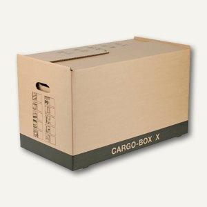 smartboxpro Umzugskarton Cargo X, 1-wellig, 637 x 340 x 360 mm, braun, 222105101