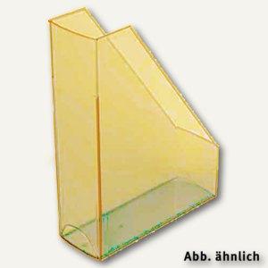 Helit Stehsammler, PP, DIN A4/C4, Griffloch, orange-trans., 2St., H2361440