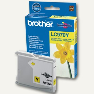 Brother Tintenpatrone gelb, LC970Y