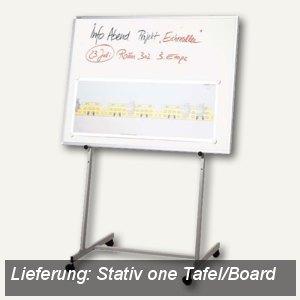 Franken Mobiles Stativ mit Quertraverse, für Tafeln ab 90 cm Breite, ST 90